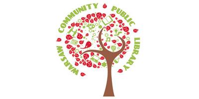 Warsaw Community Public Library Logo
