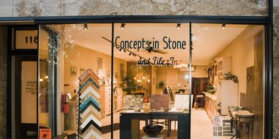 Concepts In Stone & Tile Inc. Logo