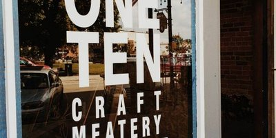 ONE TEN Craft Meatery Logo